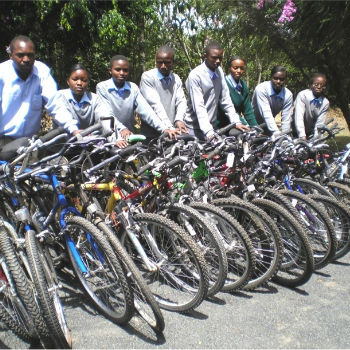 TGUP Project #3: Bicycles in Botswana - 2008