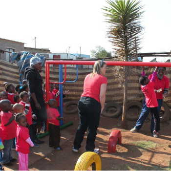 TGUP Project #36: Nthabiseng Jungle Gym in South Africa - 2013