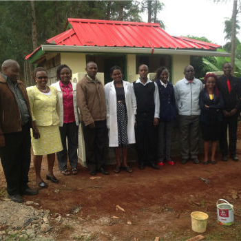 TGUP Project #69: Ngungu Staff Latrines in Kenya - 2016