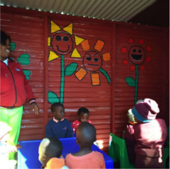 TGUP Project #74: Salome's Preschool in South Africa - 2016