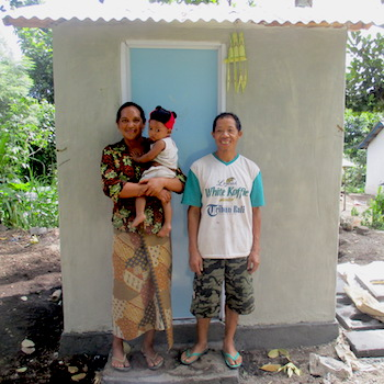 TGUP Project #106: Bali Latrines Phase 3 in Indonesia - 2018