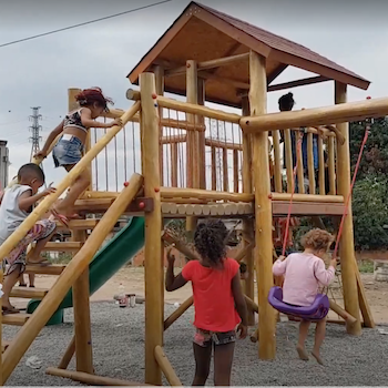 TGUP Project #169: Favelinha Playground in Brazil - 2020