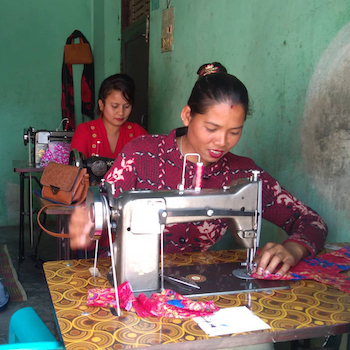 TGUP Project #107: Nepal Sewing Center in Nepal - 2019