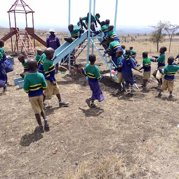 TGUP Project #128: Olmoti Playground in Tanzania - 2020