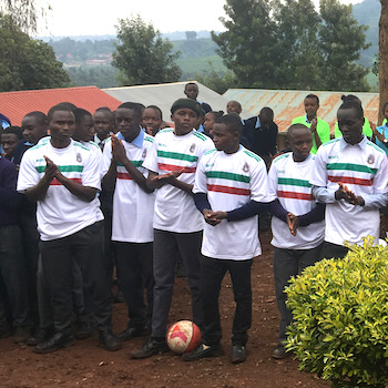 TGUP Project #120: Soccer Uniforms in Kenya - 2019
