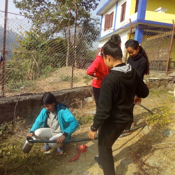 TGUP Project #150: Bidhya Water Well in Nepal - 2020