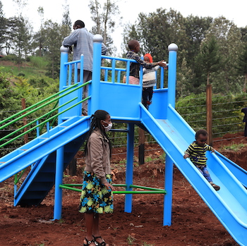 TGUP Project #142: Shining Star Playground in Kenya - 2020