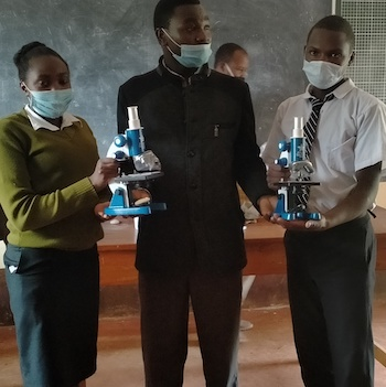 TGUP Project #161: Microscopes for Kenya in Kenya - 2021